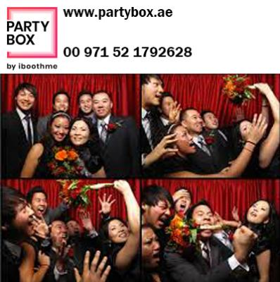 Photo booth dubai