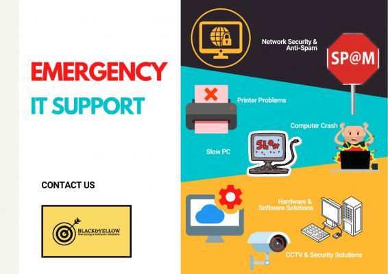 EMERGENCY IT SUPPORT 24 HOURS