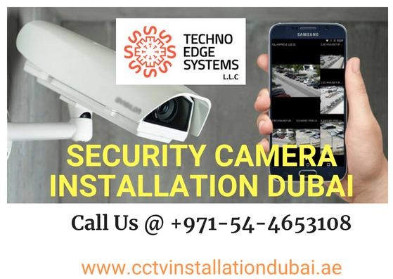 Call us @+971544653108 for Security Camera Installation