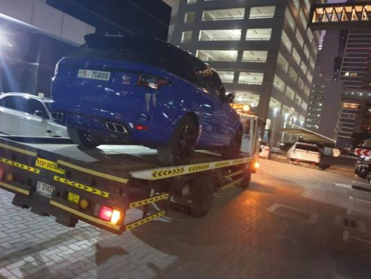 Dubai Car Recovery and Towing Service