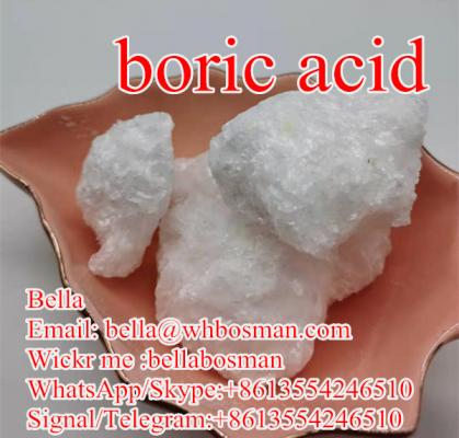 high quality boric acid Chunks/Flakes  cas11113-50-1 safe delivery