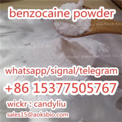 Benzocaine Powder CAS 94-09-7 benzocaine Pain Killer
