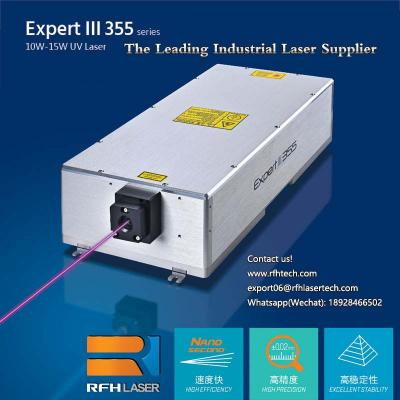 15W UV laser is used in PCB QR code laser drilling, cutting neatly without burrs