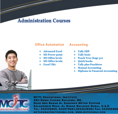 Learn Administration Courses from the Experts in Dubai