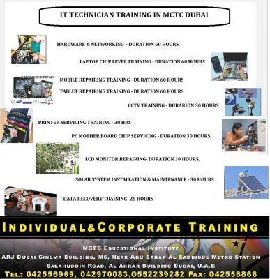 Join with MCTC Dubai to Become an Expert IT Technician in Dubai!!