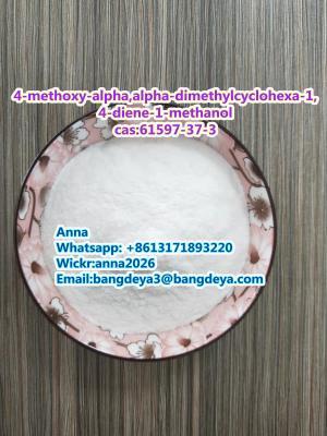 4-methoxy-alpha,alpha-dimethylcyclohexa-1,4-diene-1-methanol cas:61597-37-3