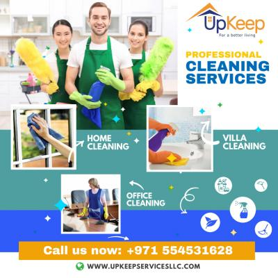 Best Cleaning Services in Dubai - Upkeep Services LLC