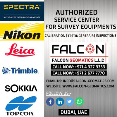 Total Station Calibration, Repair and Services   Falcon Geomatics LLC