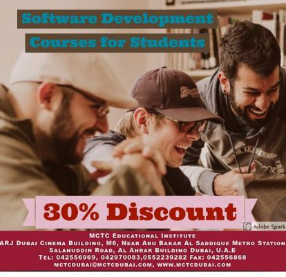 Amazing Offer! Software Development Courses for Students | Get 30% Discount!!