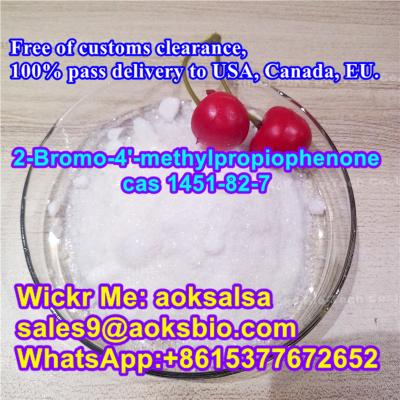 cas 1451-82-7 2-bromo-4-methylpropiophenone in stock best price,1451-82-7 China supplier