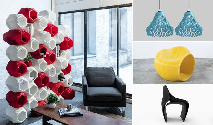 3D Printed home decors & furniture