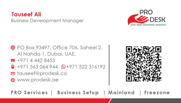 Business Setup in DUBAI, United Arab Emirates