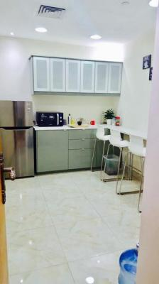 AED 30,000/- per year. No Commission. Furnished and Serviced Offices in Al Nahda, Near NMC Hospital