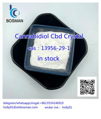 100% Natural Hemp Extract Cannabidiol Cbd Isolate Powder CAS?13956-29-1 holly01@whbosman.com