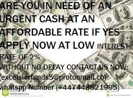 Do you need financial aid, are you seriously in need of an urgent loan