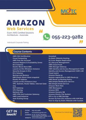 Amazon Web Services (AWS) Certification Course in Dubai