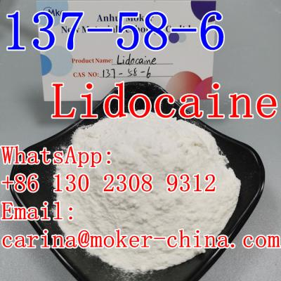 Low Price Pharmaceutical Intermediate Lidocaine CAS 137-58-6 Fast Delivery