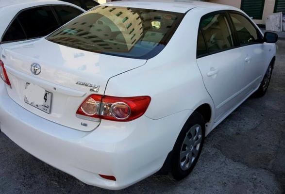 Toyota Corolla 2012 XLI 1.6 LTR Gear Automatic