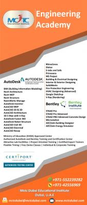 Autodesk & Engineering Courses with Certification in Dubai