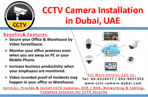 CCTV security systems in Dubai