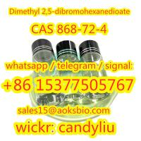 new product in 2021 Dimethyl 2,5-dibromohexanedioate cas 868-72-4 china supplier,sales15@aoksbio.com