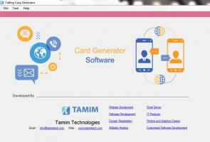 Automated Calling Card Design just in 5 minutes with software
