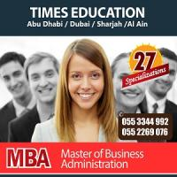 MBA Degree College in Abu Dhabi-Dubai-Times Education UAE