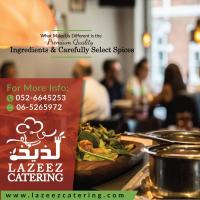 A perfect solution for any occasion - lazeez catering services