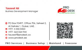 Setup your Business in Dubai - Contact +971563064944
