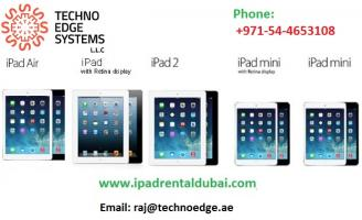 iPad Rental in Dubai - Latest models and lowest prices