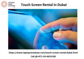Touch Screen Rental Dubai, UAE