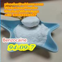 Local Anesthetic Powder Benzocaine for Anti-Paining CAS 94-09-7 Manufacturer Supply