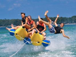Are you searching for luxury banana tube boat ride in Dubai?