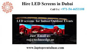 Smart LED Screen Rental Dubai - Techno Edge Systems