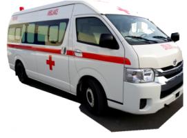 Toyota Hiace High Roof Ambulance