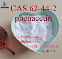 China factory supply  CAS 62-44-2   phenacetin 99% purity ,bulk in stock