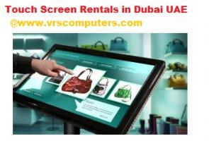 Touch Screen Rental Services for Events in Dubai UAE
