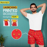 Equip Latest and Comfy Men�s Boxer Online at Beyoung