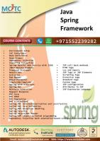Java Spring Framework Training in Dubai