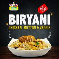Try our delicious and special Biryani at your favorite restaurant Student Biryani in Dubai & Sharjah