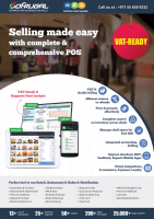 NDS - Looking for VAT Ready Accounting Software for Resturants, Pharma & Health Care and stationery.