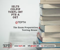 IELTS , TOEFL, CELPIP exam preparation and test center in dubai