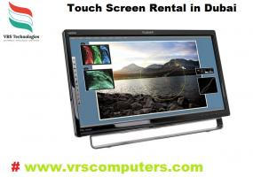 interactive Touch Screen Rental Dubai By VRS Technologies