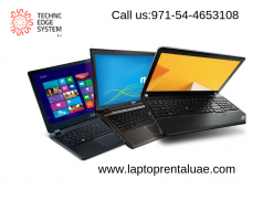 Laptop for Rent in Dubai | Laptops for Rent | TV Rental in Dubai |  LED Tv Rental Dubai -Techno edge System