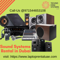 Sound System Rental Dubai | Sound System for Rent -Techno Edge Systems