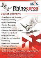 Rhinoceros - The world's most versatile 3-D modeler Course in Dubai