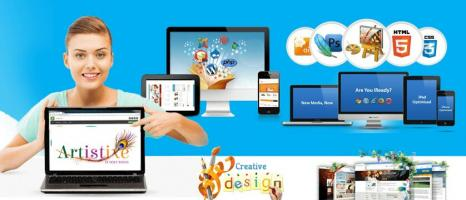 website and design development  Company  | Artistixe IT Solutions