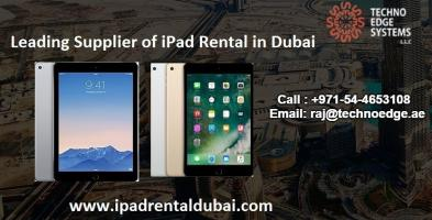 iPad Rental Services for Business in Dubai
