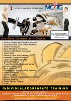 Best Class Room Training for Autodesk Inventor Course in Dubai