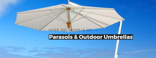 Parasols Cantilever Umbrellas and Patio Outdoor Umbrellas